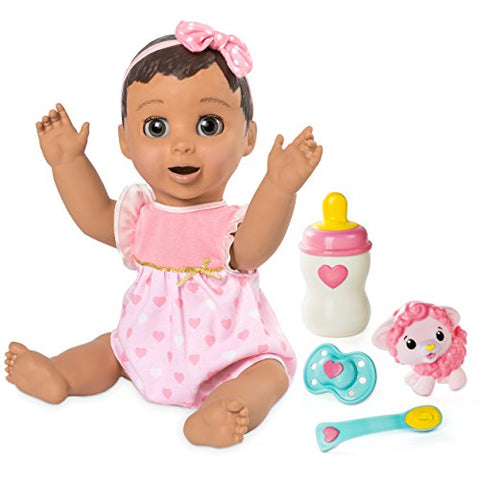 LUVABELLA - Brunette Hair - Responsive Baby Doll with Realistic Expressions and Movement