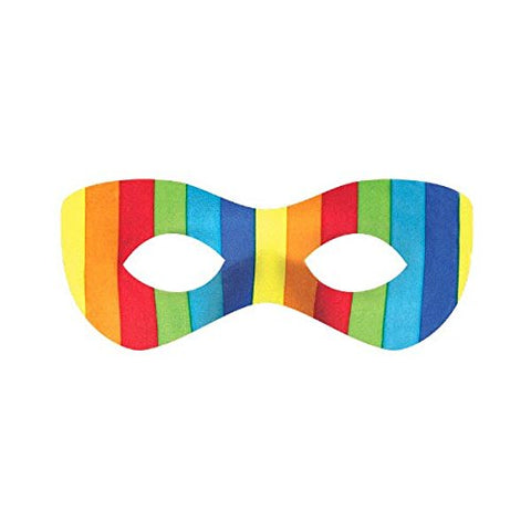 Amscan Super Hero Mask, Party Accessory, Rainbow