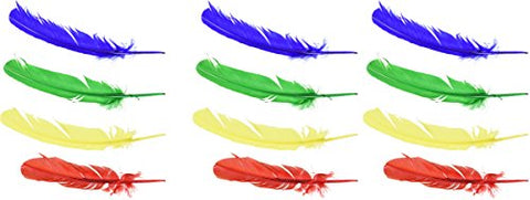 School Smart 86302 Quills - 10 to 12 inches - - Assorted Colors