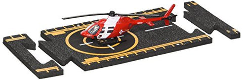 Hot Wings Bell 206 Jet Ranger (Life Flight) with Connectible Runway