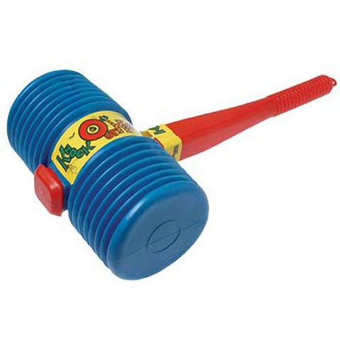 US Toy One Giant Squeaky Circus Carnival Clown Hammer, Assorted Color