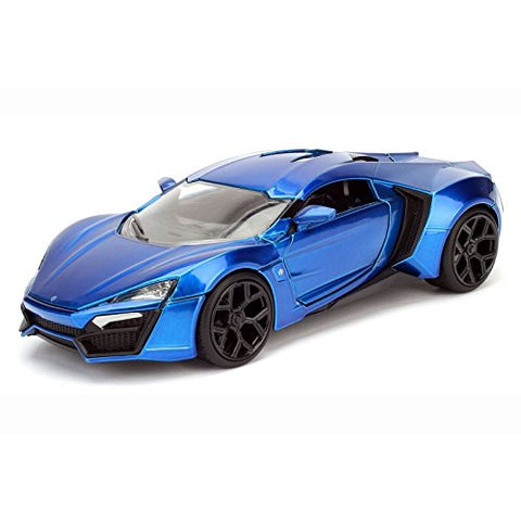 Big Time Muscle 1/24 Scale Lykan Hypersport White Diecast Model Car by Jada 98028