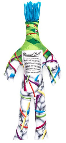 Dammit Doll - Dammit Sports - Dammit Golf Doll - Stress Relief, Gag Gift