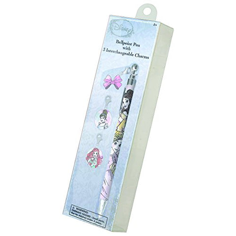 National Design Disney's Princess My Charmed Life Pen With Bonus Charms