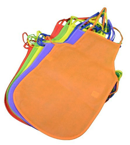Children's Kids Artists Aprons Polyester Non-woven Assorted Colors