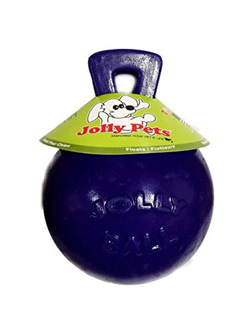 Tug-N-Toss Ball Color: Purple, Size: 8  H x 6  W x 6  D