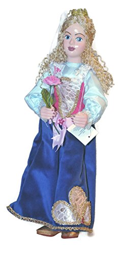 PRINCESS Sophia Blue Loutka Marionette String Puppets Approx 18  High Hand Made In Prague Czech Republic