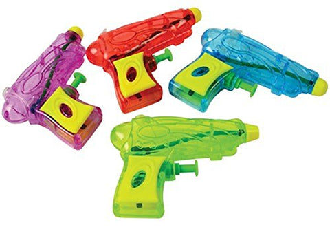 Assorted Color Space Blaster Water Squirt Guns (12)