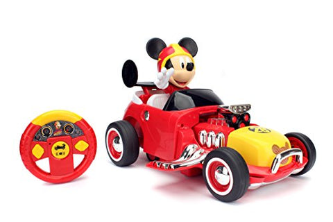 Jada Toys Disney Mickey Transforming Roadster RC Vehicle (2 Piece)