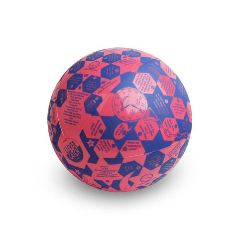American Educational Vinyl Clever Catch Time Ball, 24  Diameter
