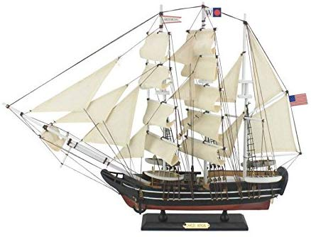 Hampton Nautical Wooden Charles W. Morgan Model Whaling Boat, 24""