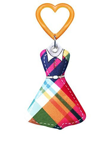 HipFits Nantucket Dress Silent Fidget & Backpack Charm- Discrete & Compact Fidget