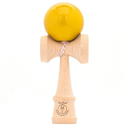 SunRise - Mini Kendama - Metallic Yellow