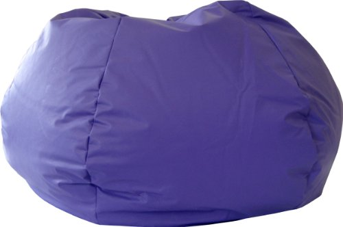 Fabulous Gold Medal Bean Bags 30014046817 Xx Large Leather Look Bean Bag Purple Inzonedesignstudio Interior Chair Design Inzonedesignstudiocom