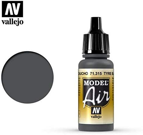Vallejo Tire Black 17Ml Paint