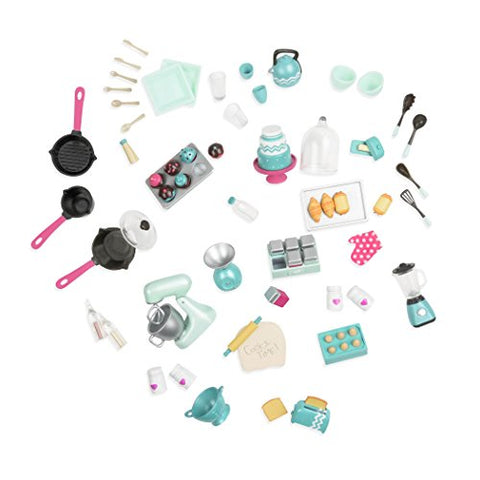 Lori Doll Mix & Bake Accessory Set