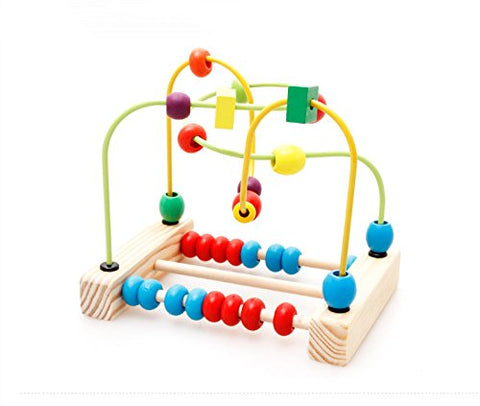 First Circle Bead Maze Roller Coaster Educational Toys for Kids