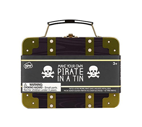 NPW-USA Make Your Own Pirate in a Tin Prop Kit