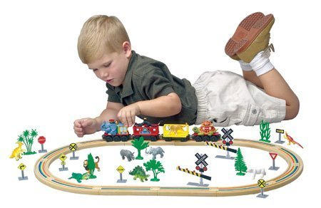 Safari Alpha Zoo Express Train Starter Set