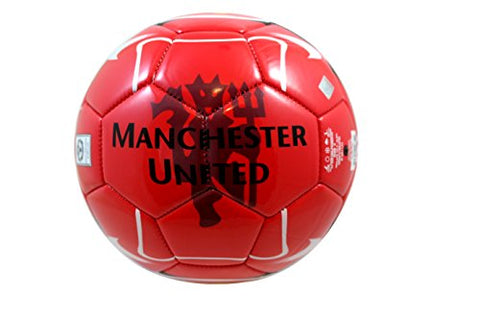 Manchester United FC Authentic Official Licensed Soccer Ball Size 4 -003 by RHINOXGROUP