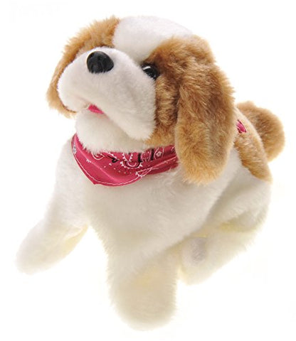 PowerTRC Cute Somersault Little Puppy- Barks, Sits, Walk, and Flips