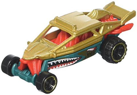Hot Wheels 2017 HW Daredevils Dune It Up 258/365, Gold and Green