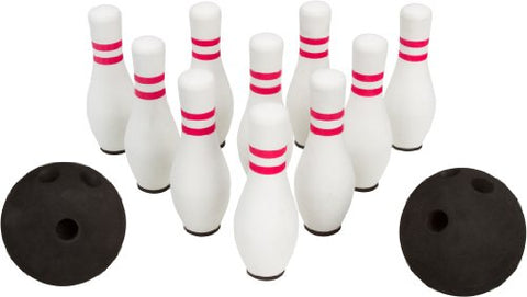 Trademark Innovations Foam Bowling Set