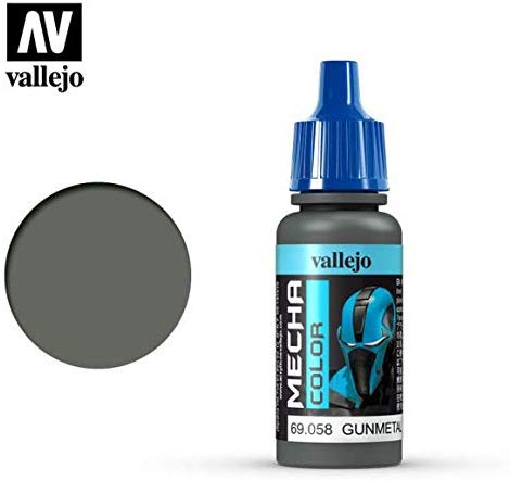 Vallejo Gunmetal 17Ml Painting Accessories