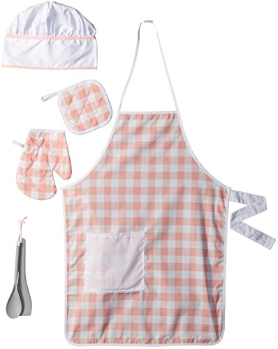 KidKraft Tasty Treats Chef Accessory Set - Pink