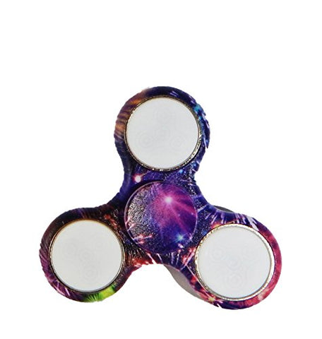 Spinner Squad High Speed & Longest Spin Time Spinners - LED - 3 Modes SAFE (Fireworks)
