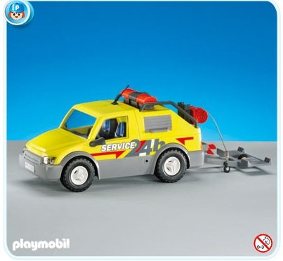 Playmobil Emergency Service Van