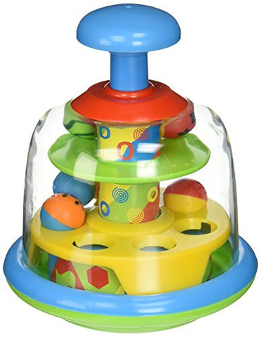 Castle Toys Fun Time Spinning Popping Pals Toy