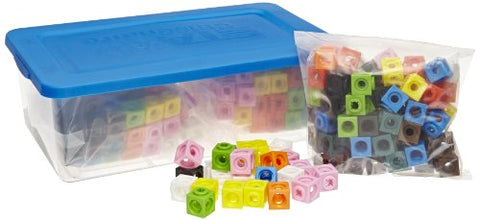 ETA hand2mind Linking Mathlink Cubes in a Tub (Set of 300)