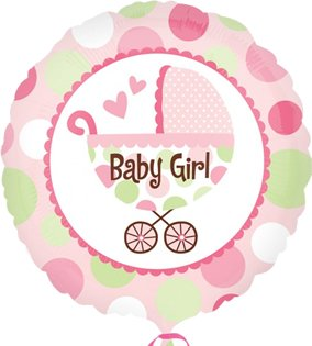 Amscan International Baby Girl Buggy