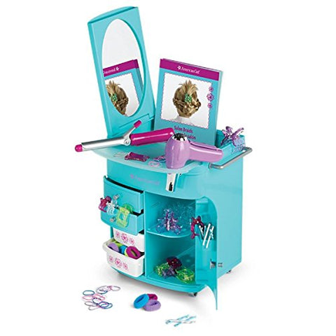 American Girl Truly Blue Hairstyling Caddy for dolls