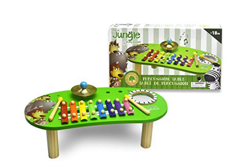 It's A Jungle In My Room Wooden Percussion Table