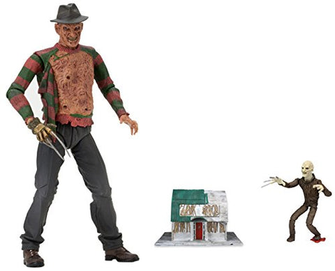 NECA Nightmare on Elm Street Ultimate Dream Warriors Freddy Action Figure (7  Scale)