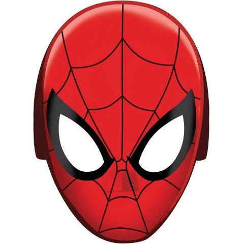 Spider-Man Hats/ Masks, 8 Count, Party Supplies