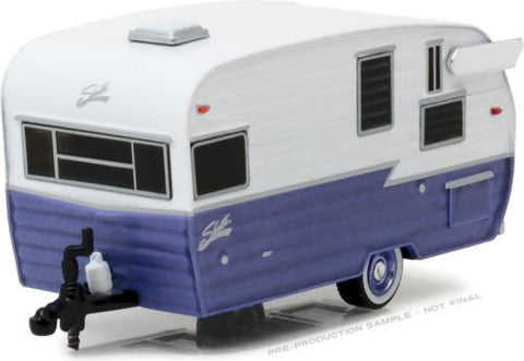 1:64 HITCHED HOMES SERIES 1 - SHASTA 15' AIRFLYTE 34010-E DIECAST BY GREENLIGHT