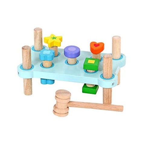 MENTARI Wooden Cobbler's Bench Toy ( SVLK certified )  Design in Taiwan  Manufacture in Indonesia