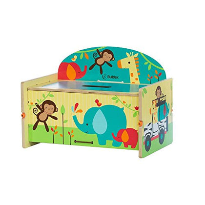 Buildex Safari Adventure Storage Box Childrens Outdoor Benches
