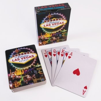Forum Novelties WELCOME TO FABULOUS LAS VEGAS SIGN PLAYING CARDS (ONE DECK)