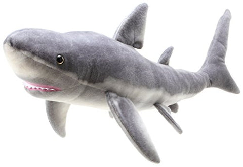 Sammy the Shark | Almost 3 Foot (33.5 ) Long Great White Stuffed Animal Plush | By Tiger Tale Toys