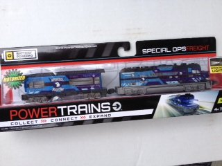 Power Trains Motorized Engine - Special Ops Freight Set