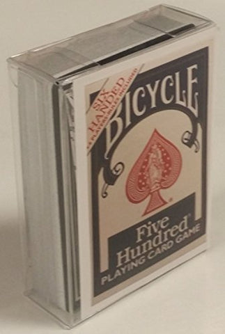Bicycle Six Handed Five Hundred Playing Card Game