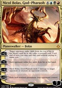 Nicol Bolas, God-Pharaoh - Hour of Devastation