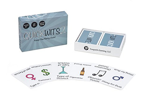 QuickWits 2 : Party Card Game