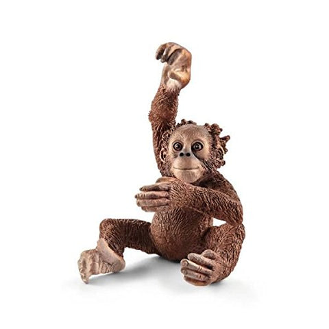 Schleich North America Young Orangutan Toy