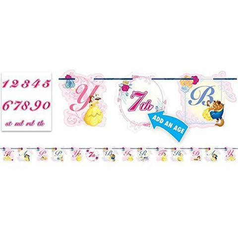 Beauty and the Beast 'Dream Big' Jumbo Letter Banner Kit (1ct)