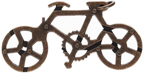 OliaDesign Bicycle Cast Metal Brain Teaser Puzzle (2 Piece)